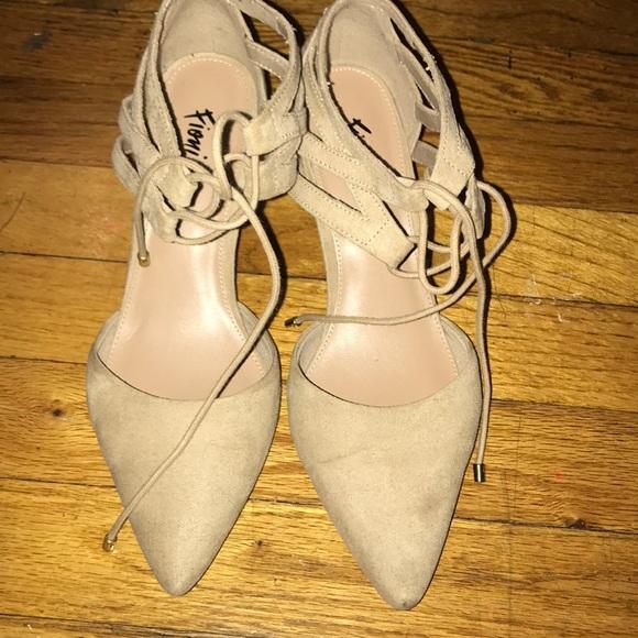 fioni Shoes - Fioni Nude shoes